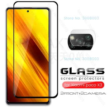 protective glass poco x3 nfc m3 glass camera glass for xiaomi pocophone little m 3/x 3 3m 3x pocox3 pocom3 screen protector film