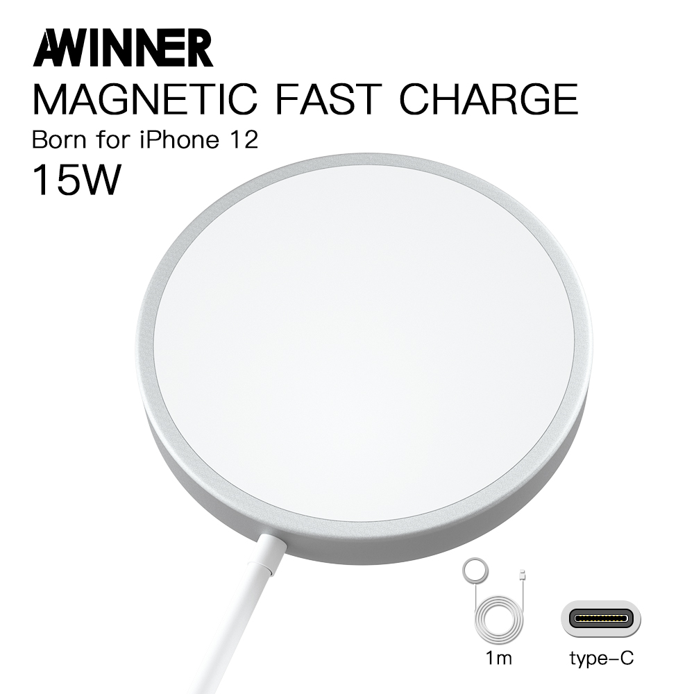 Hot Sale Magnetic Magsafe Charger for iPhone 12/12 mini/12 pro/12 pro max Wireless Charger Magsafe For Huawei XiaoMi Charger Mobile Phone Chargers  - AliExpress
