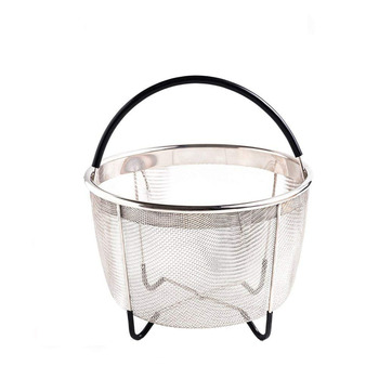 Insert Basket 6Qt Instant Pot Accessories Stainless Steel Steamer Basket with Handle Fits Most Pressure Cookers for Cooking