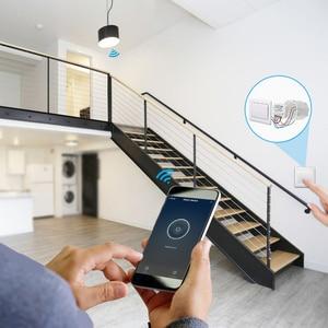 Image 4 - Interrupteur intelligent avec minuterie, contrôlable à distance par application via wi fi, Google Home et Alexa, Module dautomatisation, 10A