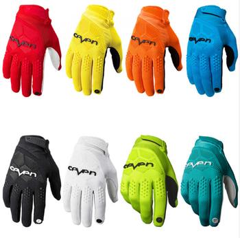 Siedem MX rękawice motocrossowe rękawice rowerowe MTB Dirt rękawice rowerowe Moto Racing sportowy motocykl rękawice tanie i dobre opinie STREAM FOX Unisex Z pełnym palcem 100 poliester