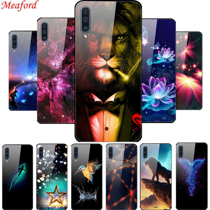 <font><b>Glass</b></font> Phone <font><b>Case</b></font> For <font><b>Samsung</b></font> <font><b>A70</b></font> A70s A50S <font><b>Case</b></font> A 70 <font><b>Tempered</b></font> <font><b>Glass</b></font> Back Cover For <font><b>Samsung</b></font> Galaxy A30s <font><b>A70</b></font> A50 <font><b>Case</b></font> A 50 <font><b>Case</b></font> image