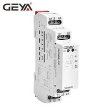 Free Shipping GEYA GRM8  Impulse Relay AC230V or AC/DC12V-240V Latching Relay Din Rail Electronic Type free shipping 2pcs lot 62 33 8 230 0040 ac230v original italian intermediate relay