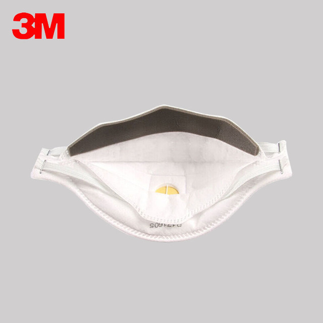 3M Aura Mask 3pcs/Box 9332 9334 9334CV Dust Mouth Masks Protective Filter  Haze Dust-proof Anti-fog Safety Face Mask 4