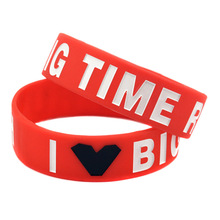 Wish best selling source star band bracelet Big Time Rush silicone trend wholesale