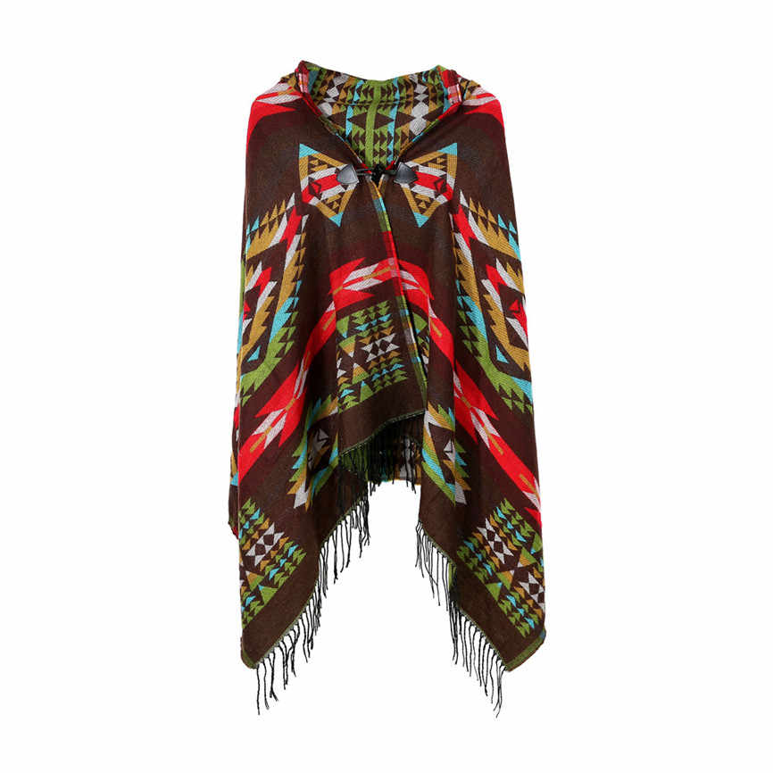 Kadın kazak hırka kadın kış örme kaşmir panço pelerinler şal hırka kazak ceket kazak kadınlar kış