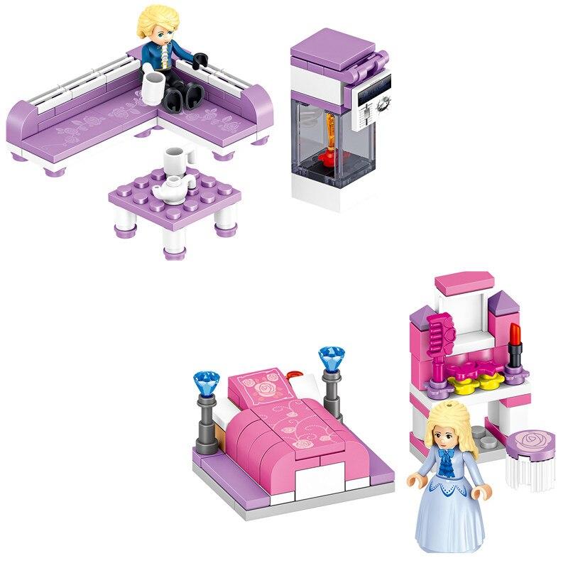 Blocks Friends Princess Castle 731PCS 17