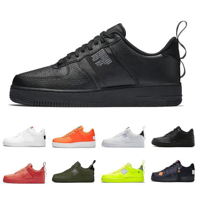 2020 New Forces Men Women Low Cut One 1 Shoes Air-Force Dunk Sports Skateboarding Shoes Classic AF Fly High Knit Sneakers