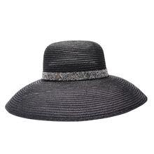 2020 летняя элегантная пляжная шляпа с широкими полями в повседневном