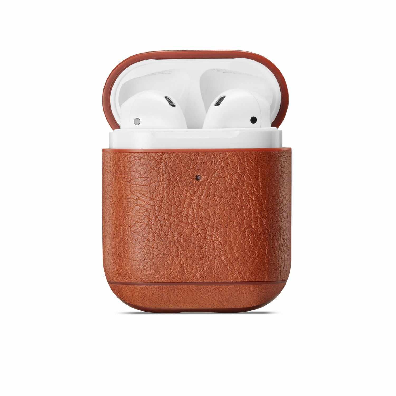 สำหรับ AirPods 2 1 หนังหูฟังอุปกรณ์เสริม Anti-Lost เชือกป้องกันหูฟังสำหรับ Apple AIR Pods กรณี