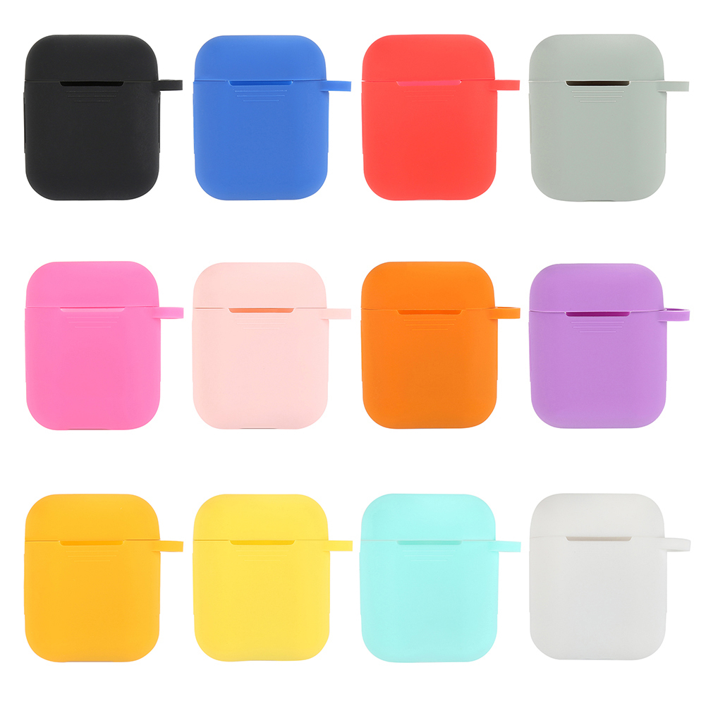 Earphone Case for Apple AirPods Cover True Wireless Bluetooth Headphone for Air Pods Pouch Protective AirPod Accessories