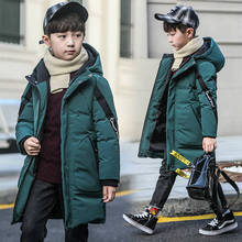 Winter Thicken Windproof Warm Coat for Boys Children Outerwear Kids Clothes Boys Jackets Plus Thick for 4 15 Years Teenager