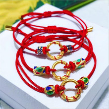New Arrival Girls Rope Red Bracelets Jewelry Female Fashion Gold Accessories Bracelet For Women Birthday Gift цены онлайн
