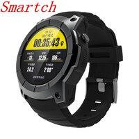 Smartch S958 GPS akıllı saat Çok fonksiyonlu Spor Izle nabız monitörü İzle Destek SIM TF Kart Barometre Aktivite Parça Mu|Akıllı Saatler|   -
