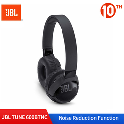 JBL T600BTNC Noise Cancelling Wireless Bluetooth Headphone JBL Gaming Headset Wireless Ear-mounted AUTO Noise Reduction Earphone