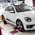 2 Pcs Car Styling Porta Bande Laterali Del Corpo Del Vinile Della Decalcomania Adesivi per Volkswagen Beetle 2011-Presente Grafica Sticker Accessori