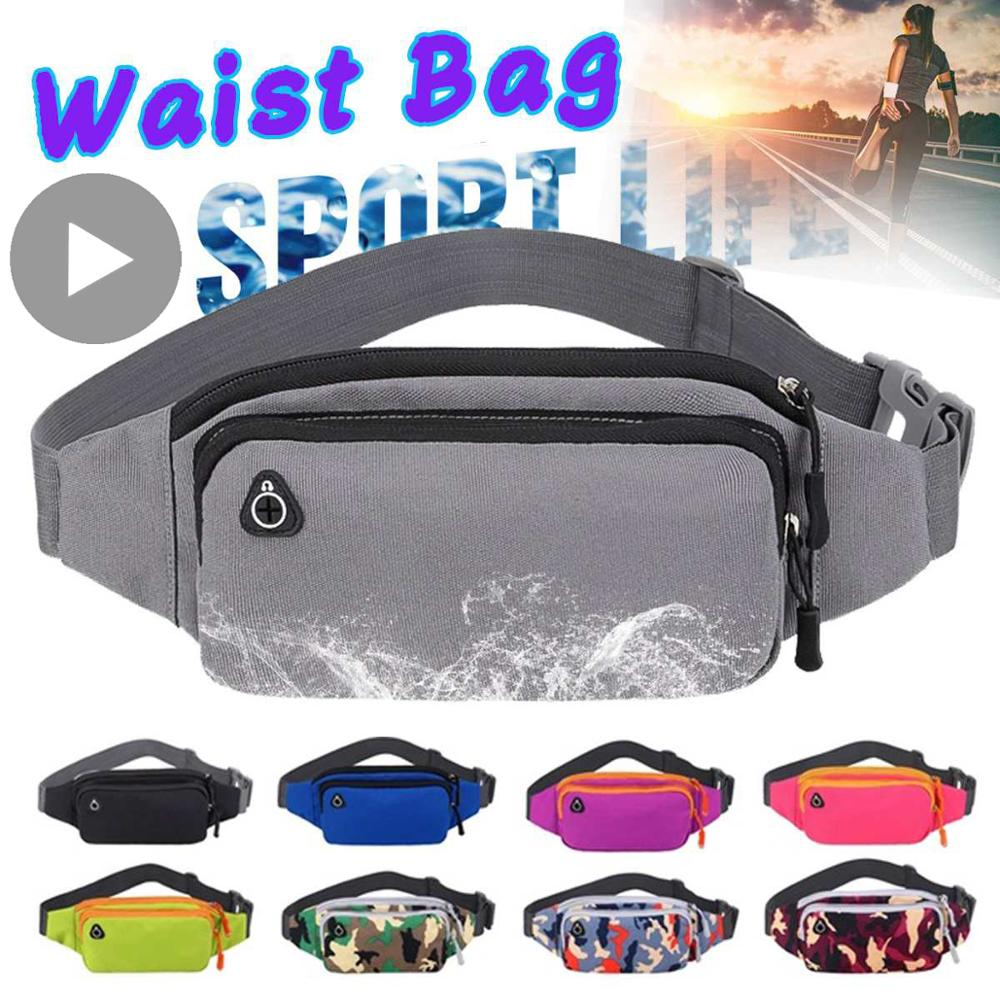 Phone Belly Banana Bum Hip Chest Money Belt For Men Women Waist Bag Male Female Fanny Pack Pouch Murse Purse Kidney Fannypack