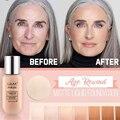 Основа для макияжа LULAA Age, Матовая жидкая основа для макияжа, полностью покрывающая консилер, водостойкая матовая основа