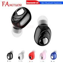 FANGTUOSI Mini Wireless Bluetooth Earphone in-ear Headset Stereo Sport Music Handsfree Earphones Wit