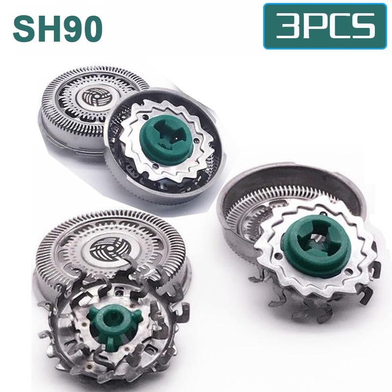 3 шт., сменные головки для бритвы philips S9000, S7000, S70, S9988, S9151, S9911, S9731, S9711, S9511, S9111