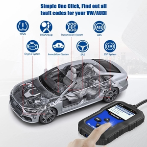 Image 3 - Konnwei KW350 Car Diagnostic Scanner Support For VW for Audi / For Skoda / For Seat  Airbag SRS ABS Brake Oil Reset EBP