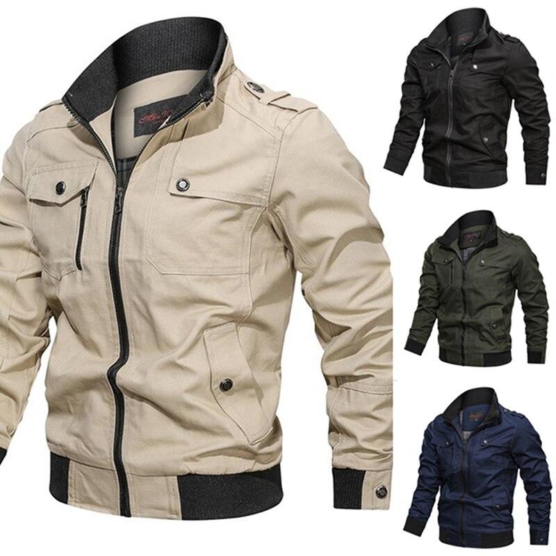 2020 kurtka męska casualowa kurtka wiosna jesień moda Slim