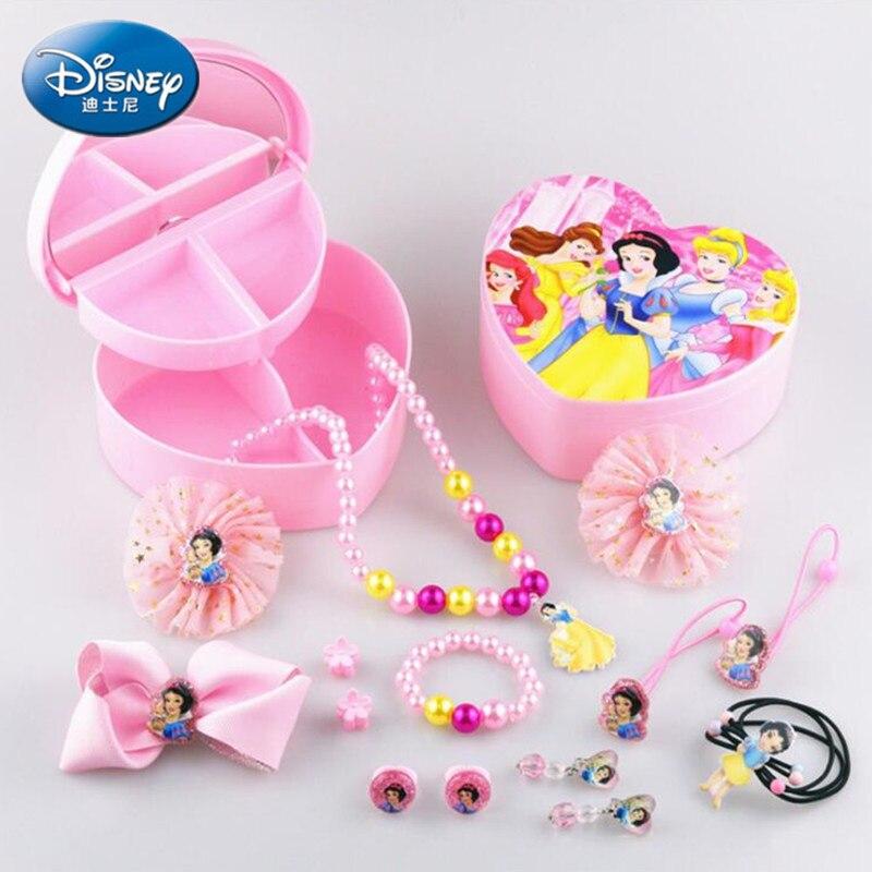 Comb NEW Girls Disney Princess Hair Accessories Set Mirror /& Hair Ties