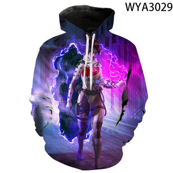 Game Apex Legends Boy Girl Kids Printed 3D Hoodies Pullover Men Women Children  Sweatshirts Streetwear Fashion Clothes Jacket 1