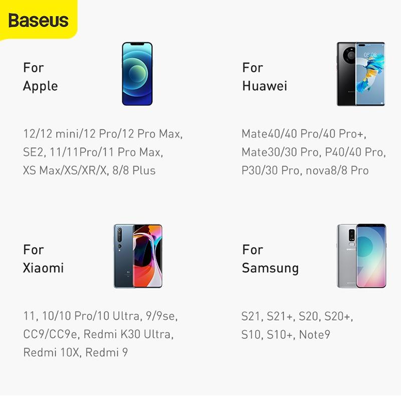 Baseus Power Bank 10000-30000mAh Portable Charging Powerbank 3