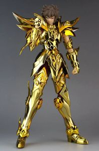 Image 4 - in stock Great Toys Sagittarius Aiolos SOG Ex action figure toy metal armor soul of gold