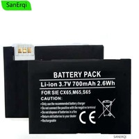 Battery for Sie mens CXI70 CXT65 CXT70 CXV65 CXV70 M65 M75 M8 S65 S65V S66 S75 SK65 SP65 battery For BenQ Siemens M81 Mobile Phone Batteries     -