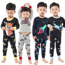 Nightwear Pyjamas Sleepwear Baby Boys Kids Cotton Cartoon Children for 2-8years Brand-New