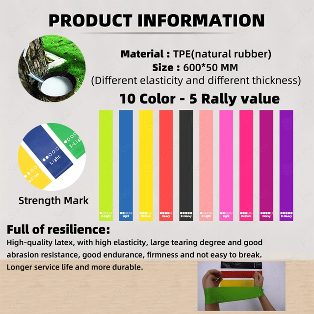 Fitness Resistance Bands Rubber Bands For Fitness Resistance Bands Elastic For Sport Bodybuilding Resistance Band Fitness Sport 2