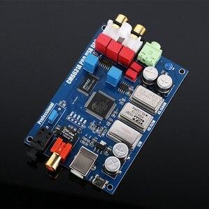 Image 4 - HIFI CM6631A tablica DAC USB cyfrowy interfejs 32 / 24Bit 192k USB do I2S/SPDIF koncentryczny wyjściowy dekoder dźwięku konwerter cyfrowo analogowy