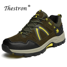 Unisex Hiking Shoes Non-slip Outdoor Army Green Rose Red Mountaineering Tactical Mens