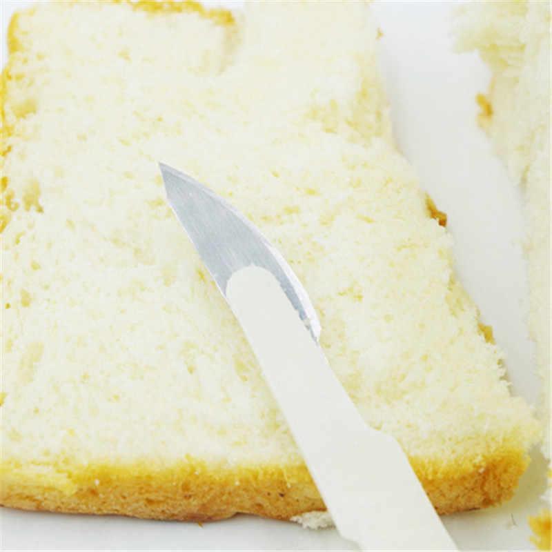 TTLIFE Baguette ขนมปังมีดหั่นปฏิบัติยุโรปขนมปังมีดตัดเครื่องมือเครื่องตัดขนมใบมีดเหล็กคาร์บอน PP Shank