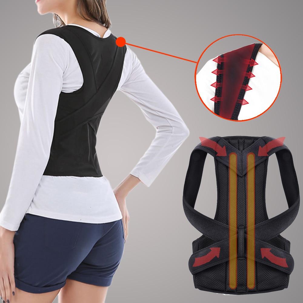 Регулируемый Корректор осанки, поддержка спины, плеч, спины, коррекция осанки, коррекция осанки, Корректор осанки