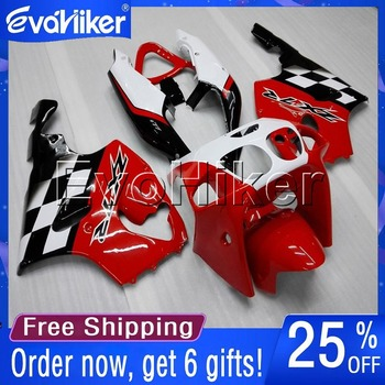 Custom motorcycle cowl for ZX7R 1996 1997 1998 1999 2000 2001 2002 2003 ABS motorcycle fairing red+gifts