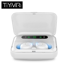 TiYiViRi TWS Wireless Bluetooth Earphones In-Ear Music Earbuds Set Stereo Headset for iphone X 6 7 8 Samsung Xiaomi Retail Box