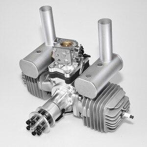 Image 2 - VVRC RCGF 120cc Twin Cylinder Petrol/Gasoline Engine Dual Cylinder with Muffler/Igniton/Spark Plug for RC Model Airplane