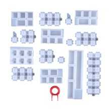 1 Set Manual DIY Mechanical Keyboard Key Cap Silicone Mold UV Crystal Epoxy Resin Molds Handmade Crafts Making Tools