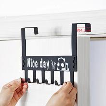 6 дверных задних крючков металлические съемные крючки для чистки