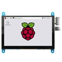 5 дюймов ЖК-дисплей HDMI Пресс Экран Дисплей на тонкопленочных транзисторах на тонкоплёночных транзисторах ЖК-дисплей Панель модуль 800x480 для Raspberry Pi 3B+/4B