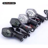 SUZUKI GSF 600/650/1200/1250 N/S Bandit 오토바이 액세서리 앞/뒤 LED 회전 신호 표시 등 깜박임 램프