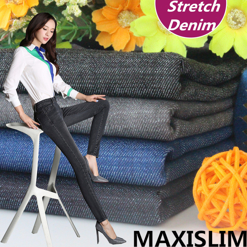 Diy Popular High Quality Stretch Denim In Europe  For Daily Life Casual  Skirt Hat Making Width Of About 150cm Free Shipping