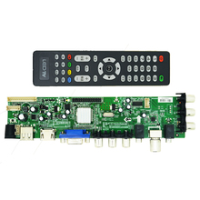 Vilaxh DS.D3663LUA.A81 DVB-T2 power board digital TV LCD/LED board Universal LCD TV Controller Driver Board For digital TV 2pcs lot mst6m181vs lf z1 tv led lcd driver chip