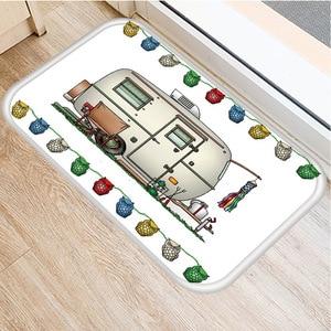 Image 5 - RV Wagon Non slip Bedroom Decoration Soft Carpet Kitchen Floor Living Room Floor Mat Bathroom Non slip Mat Door Mat 40x60cm   ..