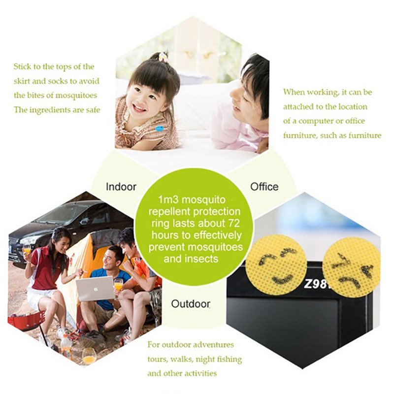 Mosquito Repellent Stickers (9)