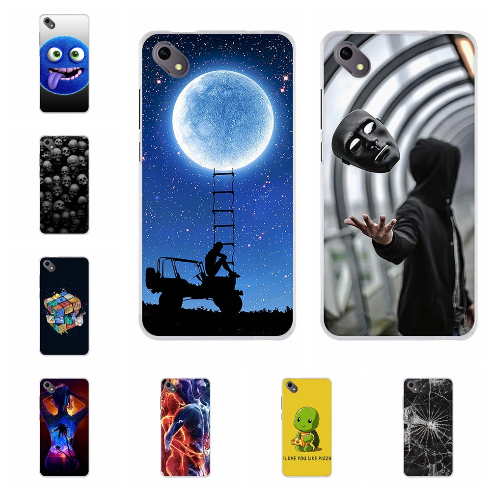For BQ S 5035 Velvet Phone Case Soft TPU Silicone Cover Cute Cartoon Pattern BQ-5035 Shell