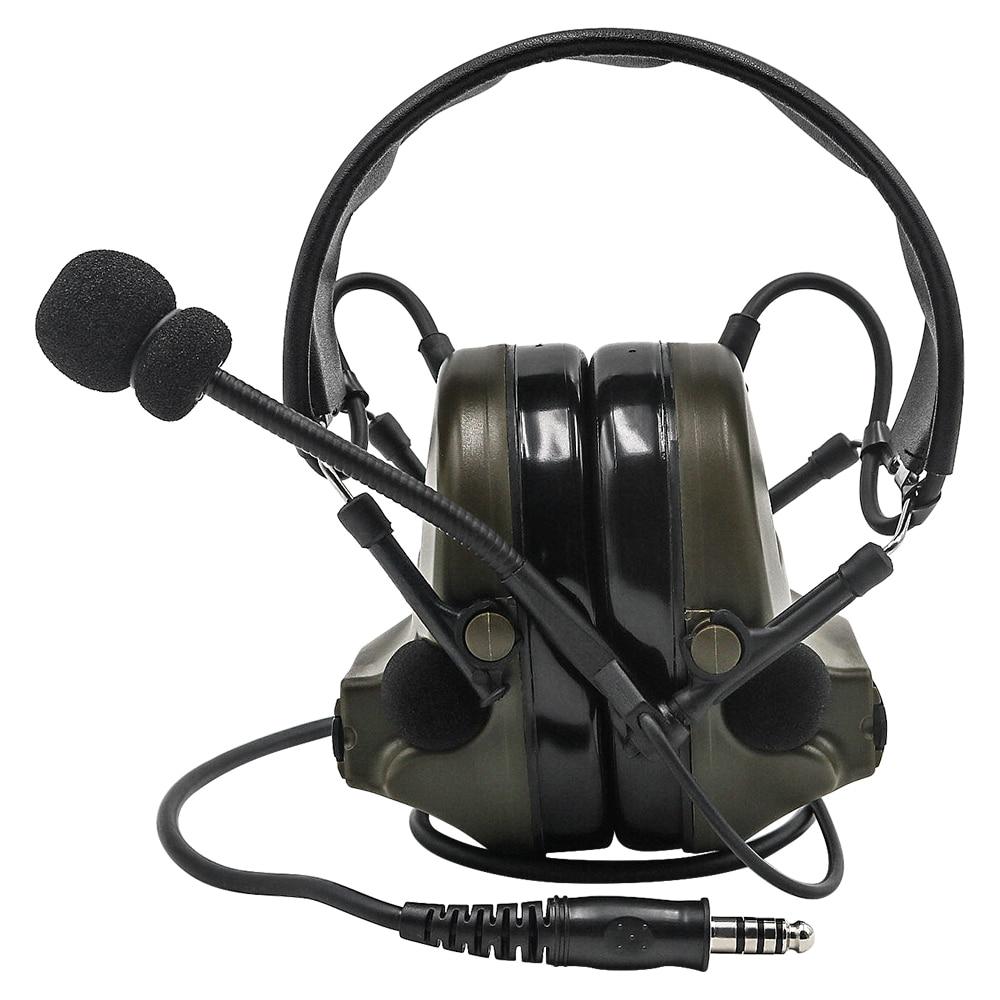 Купить с кэшбэком Z Tactical Headsets Comtac II Airsoft Headsets Noise Canceling Headphone Military  Hearing Protection Earphone For Hunting